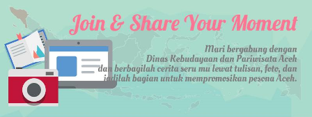 Register Blogger di Disbudpar Aceh