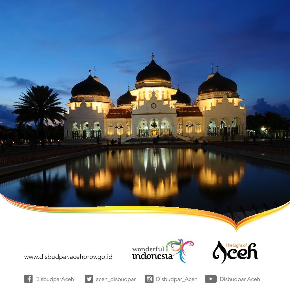 Destinasi Aceh_Masjid Raya Baiturrahman Banda Aceh_ Disbudpar Aceh