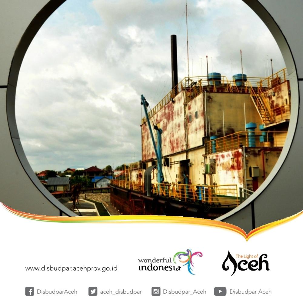 Destinasi Aceh_PLTD Apung Banda Aceh_ Disbudpar Aceh