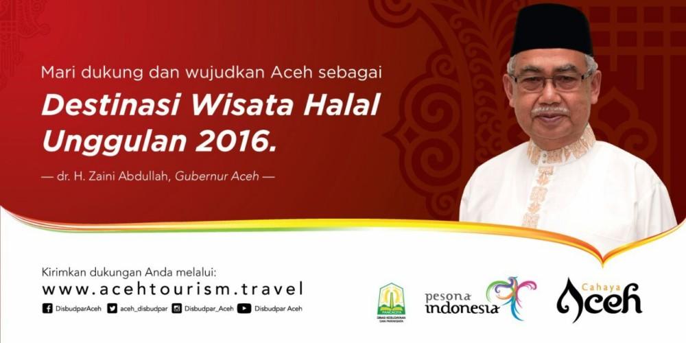 Mari Dukung Aceh sebagai Destinasi Wisata Halal