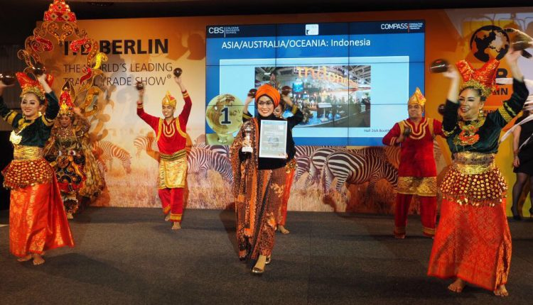 Bangga, Wonderful Indonesia Juara di Pameran ITB Berlin