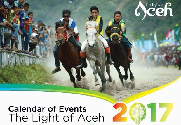 "Disbudpar Aceh Luncurkan Kalender Event ""The Light of Aceh"" 2017"