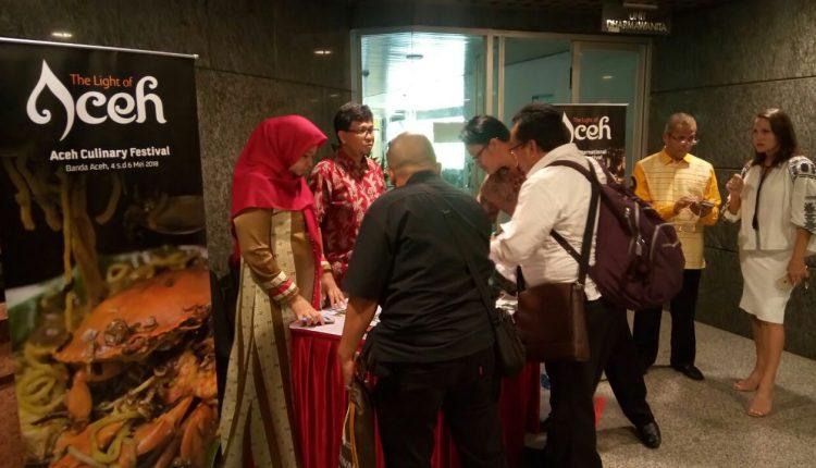 Pesona Cahaya Aceh Ikut Ramaikan Festival Indonesia Festival 2018