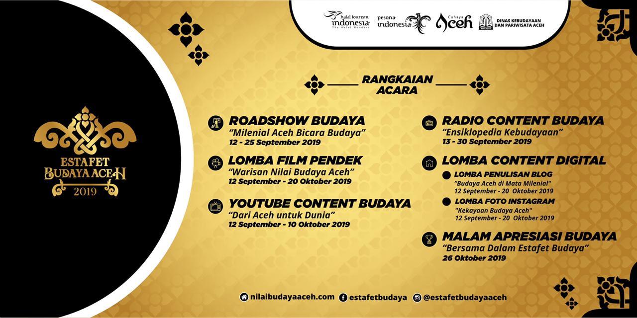 Sejumlah Lomba Meriahkan Program Estafet Budaya Aceh 2019