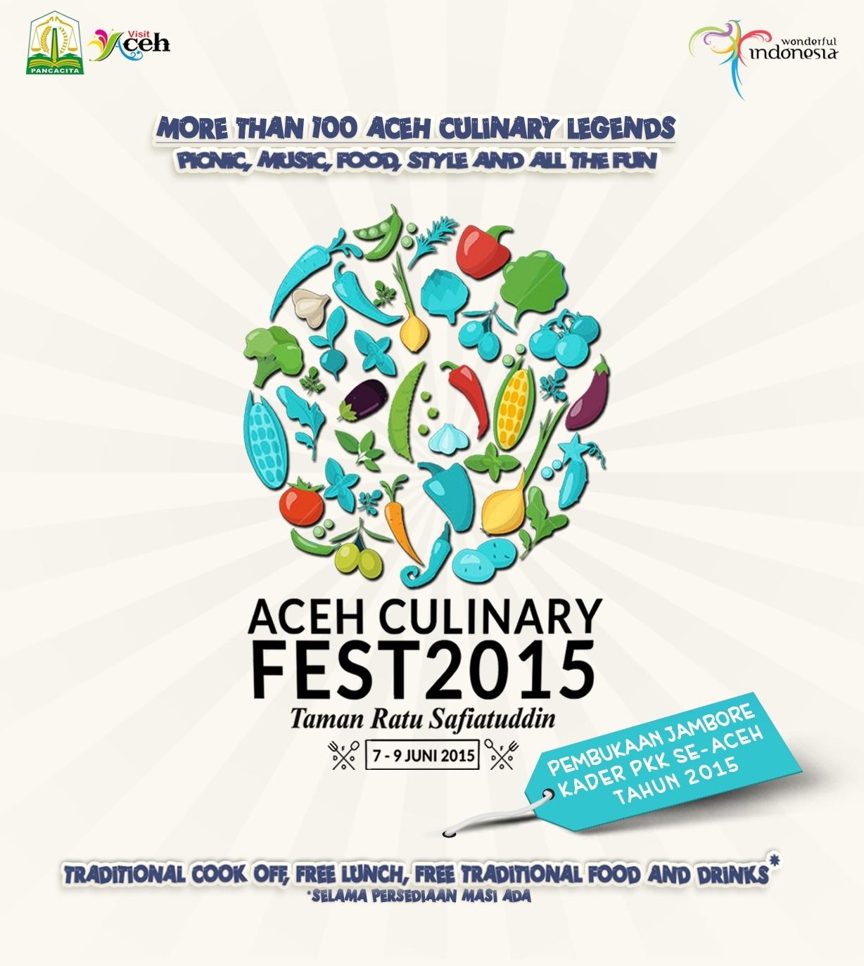 Acara Diundur Aceh Culinary Festival 2015 Hadirkan Legenda