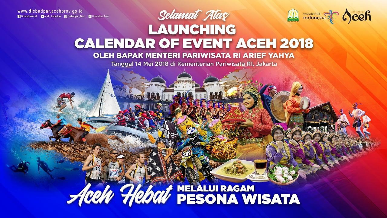 Pemerintah Aceh Akan Rilis Calendar Of Event 2018